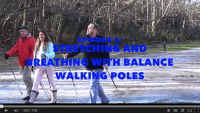 Episode 3: Stretching and Breathing with Balance Walking Poles
