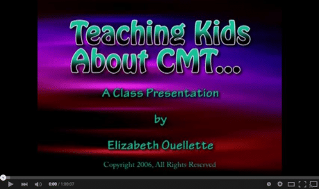 Teaching Kids About CMT