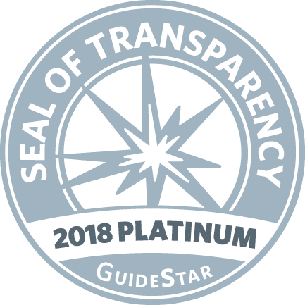 GuideStar 2018 Platinum Seal