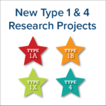 New Gene Therapy, Type 1/Type 4 Research Projects Approved