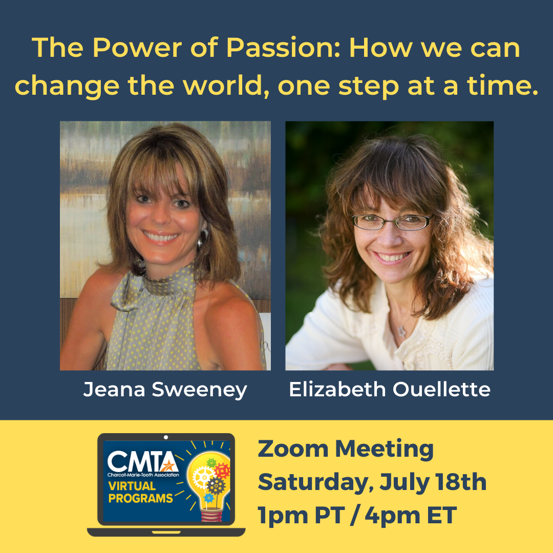 VIRTUAL PROGRAM: The Power of Passion with Elizabeth Ouellette and Jeana Sweeney