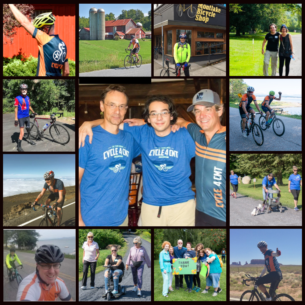 7th Annual VIRTUAL Cycle (and Walk!) for CMT