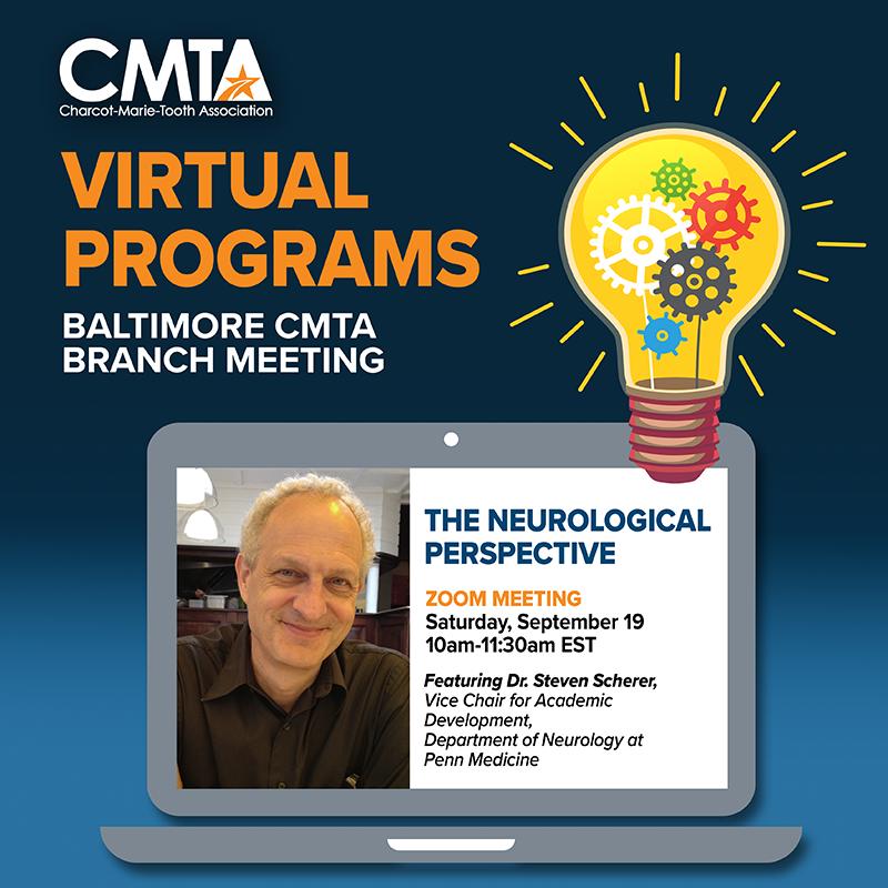 Baltimore CMTA Branch Meeting (Virtual) with Dr. Scherer