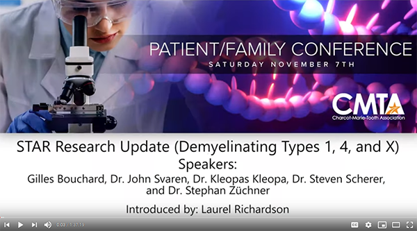 2020 PFC STAR Research Update - Demyelinating CMT Types