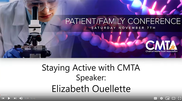 2020 PFC  Staying Active with CMTA