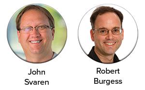 Drs. Svaren and Burgess