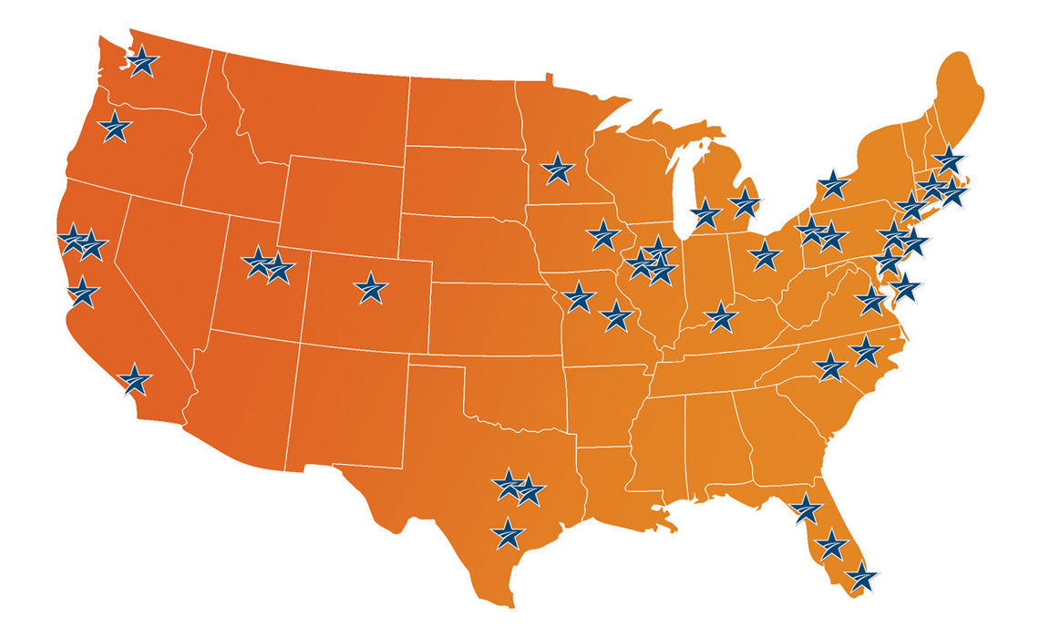 US CMTA Centers of Excellence